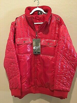 4XL LARGE WINTER WARM OUTWARE Outfitter JACKET COAT MENS RED USA