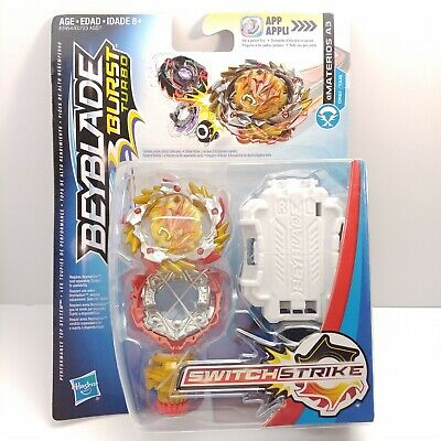 NEW Hasbro Beyblade Burst Turbo Amaterios A3 DR61 TA18 Starter Pack Attack Type