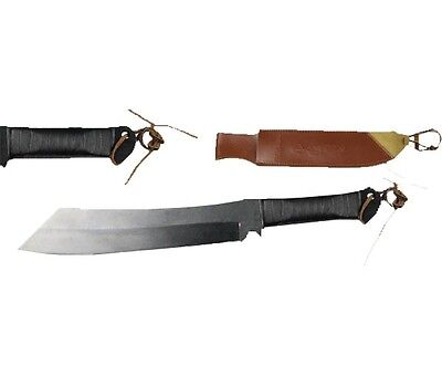 Rambo Machete Knife 28.5cm Blade Sheath Camping Tactical Pig Outdoor Army Bowie