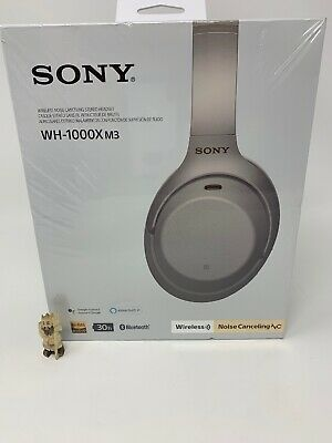 New Sealed Sony WH-1000xm3. Wireless Noise Canceling Stereo Headset - Silver