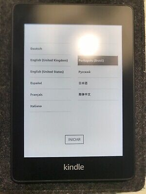 Amazon Kindle Paperwhite- Waterproof 2x Storage (8Gb)- Includes Special Offers