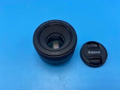 Canon EF 50mm f/1.8 STM Lens - Excellent! USPS 2-3 days w/ tracking + insur!!!!!