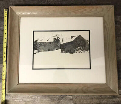 Vintage Art Andrew Wyeth 2 in 1 Indian Summer 1970 Brinton/'s Mill Chadds Ford