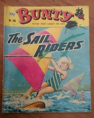 Bunty Picture Story Library For Girls- No 205-The Sail Riders