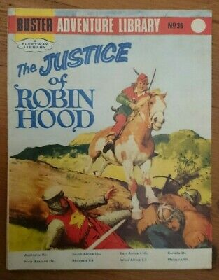 Buster Adventure Library No 36-The Justice of Robin Hood-1967