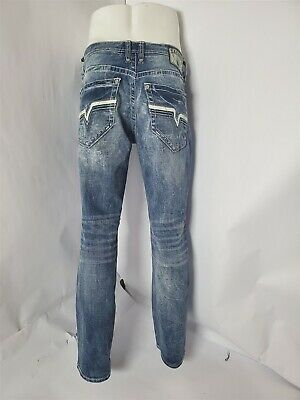 new buckle Mayhem Straight Stretch Jean SALVAGE in blue surf  31x32