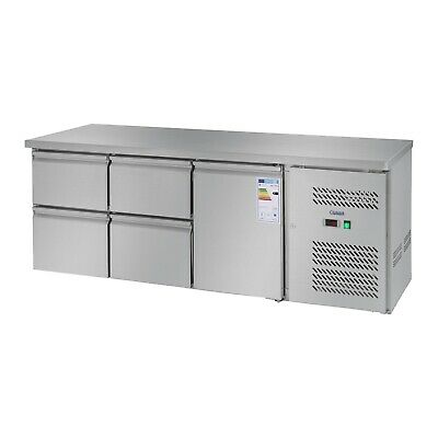 Worktop Fridge Refrigerator With Countertop Professional Cooling Table 403 L 1 D