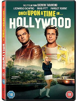 Once Upon a Time in... Hollywood by Leonardo DiCaprio ~ DVD ~ New ~ 2019