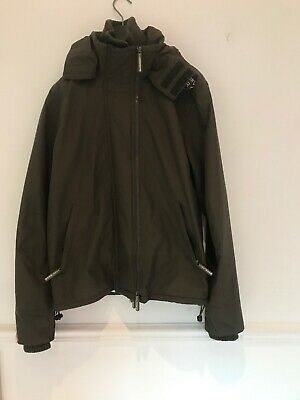 "boys Superdry Windcheater 3 Zip Jacket Chest Size 36"" Age 14-16"