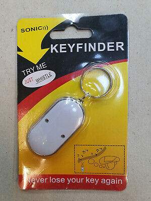 20 pcs Whistle Lost Key Finder Flashing Beeping Locator Remote LED Sonic torch.