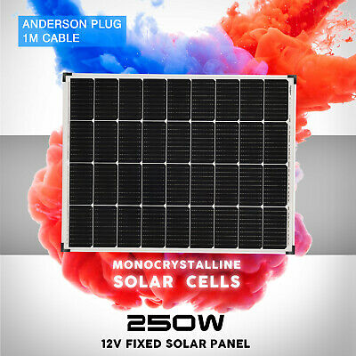 [15%OFF] 12V 250W Flexible Solar Panel 300 Watt Mono Kit Camping Battery Charge
