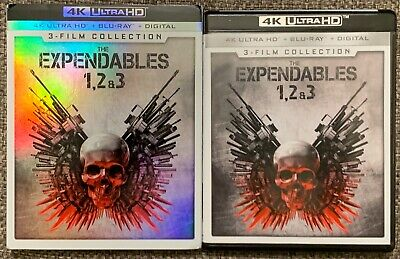The Expendables 3 Film Collection 4K Ultra Hd Blu Ray 6 Disc Set + Slipcover Buy