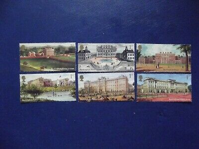 Gb  Set Of 6 Used  But Unfranked Stamps Off Paper No Gum Buckingham Palace 2014