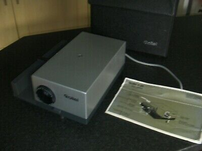 Rollei P35 Vintage Slide Projector with Case & Instructions, working