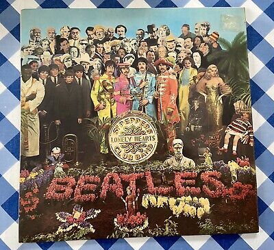 Vinyl LP The Beatles Sgt Pepper's Lonely Hearts Club Band With Inner Intact 1967