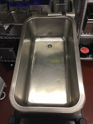 Large Drop In Stainless Steel Catering Sink 73 x 38 cm