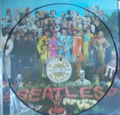 "THE BEATLES ~ ""Sgt. Peppers Lonely.."" (Parlophone) Germany - 1967 RARE PIC DISC!"