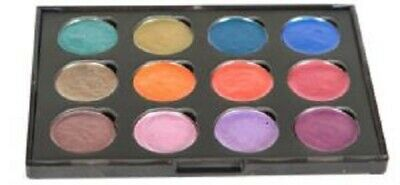 COSMIC SHIMMER IRIDESCENT Watercolour Paints x 12 ANTIQUE SHADES Set 6 Green Red
