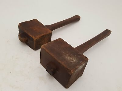 Pair of Vintage Wooden Mallets 24508