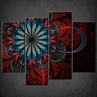 FRACTAL ABSTRACT CHOCOLATE MODERN DESIGN CANVAS WALL ART PICTURE LARGE AZ303 X