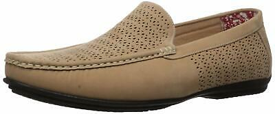 Stacy Adams Men/'s Cicero Perfed Moc Toe Slip On Shoes Red 25172-600