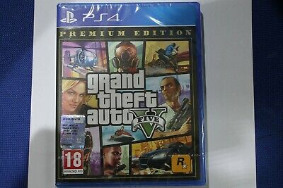 PS4 GTA Grand Theft Auto 5 - Premium Edition EU incluso Italiano