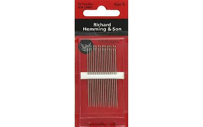 Pony Straws Milliners Hand Sewing Needles Gold eye N5