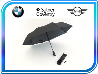 New Genuine Mini BMW Umbrella and Built in LED Torch Flashlight 51472153353