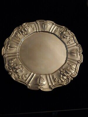 """Francis 1 Reed & Barton  Sterling Plate stamped x563.  10.75"""""""