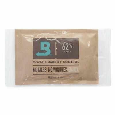 Boveda 62% RH Individually Over Wrapped 2-Way Humidity Control Pack 67gm- New