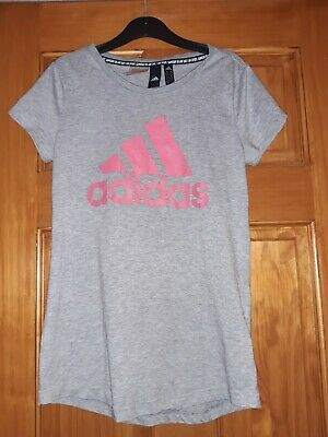 2 X Girls Addidas T Shirt Size 13/14 Yrs