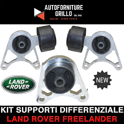 Kit 3 Supporti Differenziale Posteriore Land Rover Freelander 1 Dal 1998 Al 2006