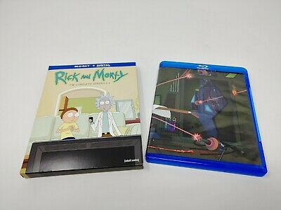 Rick and Morty The Complete Seasons 1-3 Blu Ray Discs **No Digital Code**