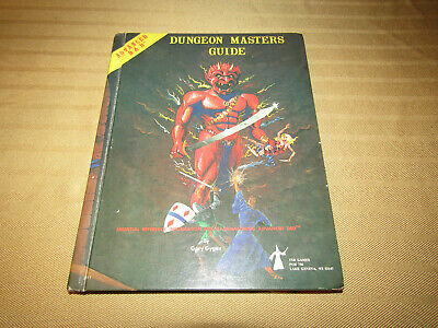 1979 Ad&D Dungeons & Dragons Dungeon Masters Guide