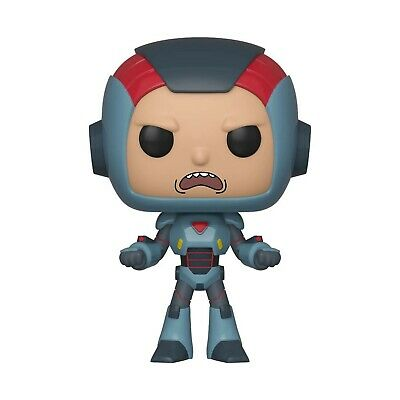 Funko 40247 POP Animation: Rick Purge Suit Morty Collectible Figure