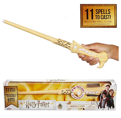 Harry Potter, Lord Voldemort's Wizard Training Wand - 11 SPELLS To Cast! Officia