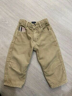 Burberry Baby Boys Trousers 18 Months