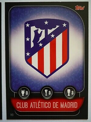 Topps Match Attax 2019/20 Athletico Madrid Team Badge Card Comb P&P