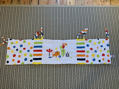 Safari Animal Print Cot Bumper