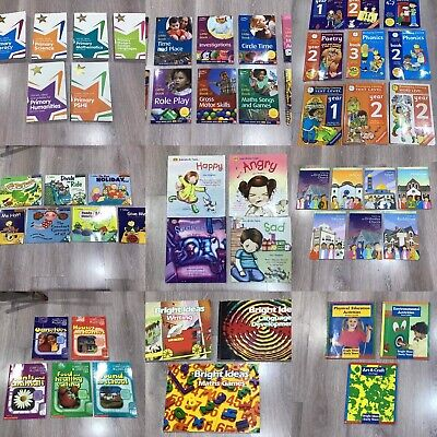 Primary Teacher's Key Stage 1/2 Teaching Books inc. Literacy, Numeracy and Maths