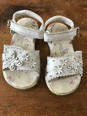 Sandals UK Infant White Size 7 From George