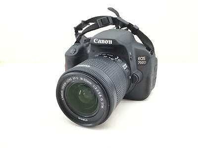 Camara Digital Reflex Canon Eos 700D+Ef-S 18-55Mm 1:3.5-5.6 Is Stm 2058661