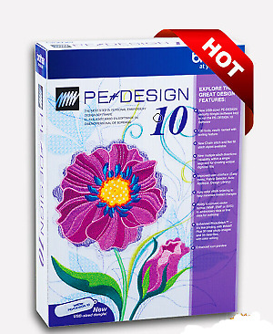 Brother PE Design 10 Embroidery Full Software | Free Gifts 2019 INSTANT DOWNLOAD