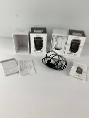 Pebble 1st Gen Charger With Two Empty Boxes Smartwatch