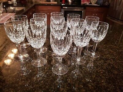 KILDARE by WATERFORD CRYSTAL / Water Goblet / HANDCRAFTED IN IRELAND PRIOR 2000