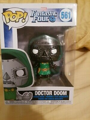 Funko Pop! Doctor Doom Dr Victor Fantastic Four 4 Marvel Comics (CUSTOM)Pop 561