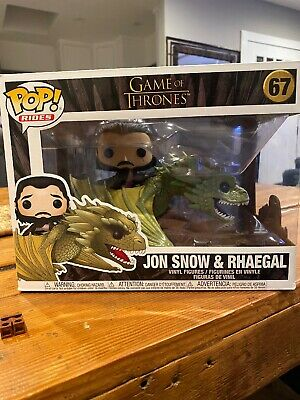 FUNKO POP! Television Game Of Thrones Jon Snow and Rhaegal #67