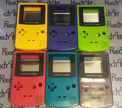 Pick a color OEM USED Nintendo Gameboy GBC housing shell parts system Front Back