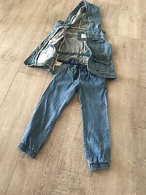 country road kids Denim jacket Vest  6 Light Weight Pants  5