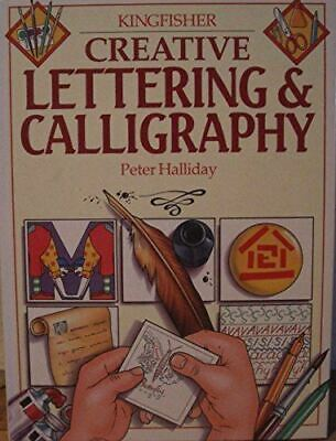 Like New, Creative Lettering and Calligraphy (Creative S.), Halliday, Peter, Har